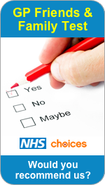 Would you recommend Abbey Meads Medical Group to Friends and Family?